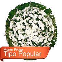 Best - Coroa de Flores Popular Branca