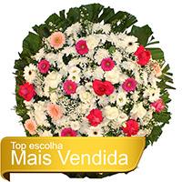 Best - Coroa de Flores Tradicional Rosa