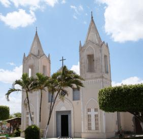 Coroa de Flores Cemitério Municipal de Graccho Cardoso