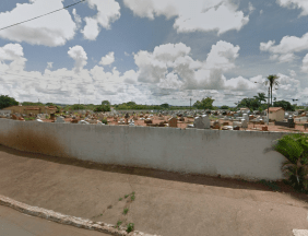 Cemitério do município de Senador Canedo – GO