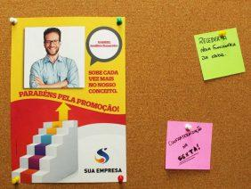 O que fazer para Promoção de Cargo: Cartaz