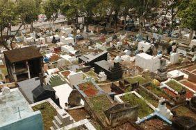 Cemitério de Brotas – Santa Isabel – SP –