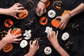 O que fazer para Dia das Bruxas – Halloween: Lanche com comidas e bebidas temáticas
