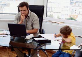 O que fazer para Dia dos Pais: Visita dos filhos