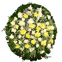 Best - Coroa de Flores Delicada Amarela