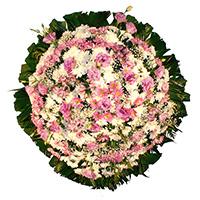 Best - Coroa de Flores Delicada Lilás