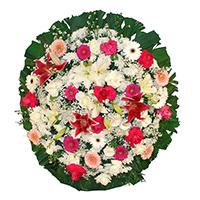Best - Coroa de Flores Luxo Rosa