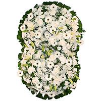 Best - Coroa de Flores Suprema Branca