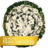 Best - Coroa de Flores Tradicional Branca