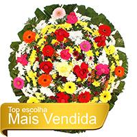 Best - Coroa de Flores Tradicional Colorida